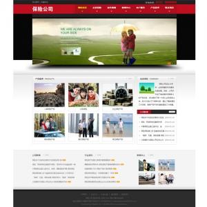 保险公司网站案例【TYWl089】