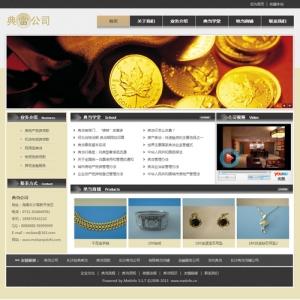 典当行业网站案例【TYWl085】