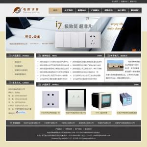 电控设备公司网站案例【TYWl085】