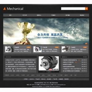 机电设备公司网站案例【TYWl099】