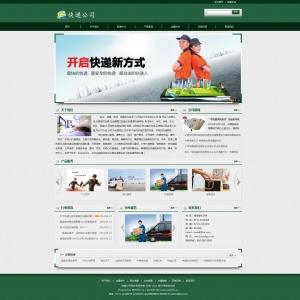 快递公司网站案例【TYWl087】