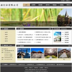 旅游公司网站案例【TYWl085】