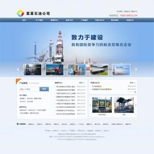 石油公司网站案例【TYWl091】