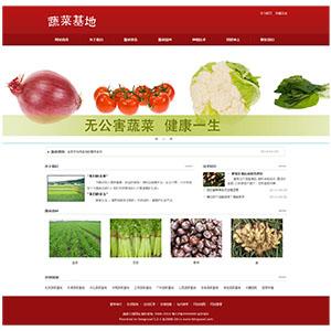 蔬菜公司网站案例【TYWl090】