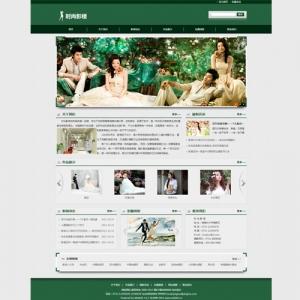 影楼公司网站案例【TYWl087】