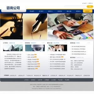 东莞虎门网站设计--咨询公司网站案例【TYWl068】