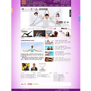 东莞建网站-虎门建网站国内知名瑜伽馆网站案例-腾宇网络实力打造